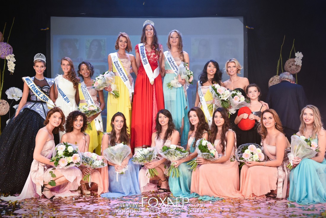 Election Miss Bourgogne 2015