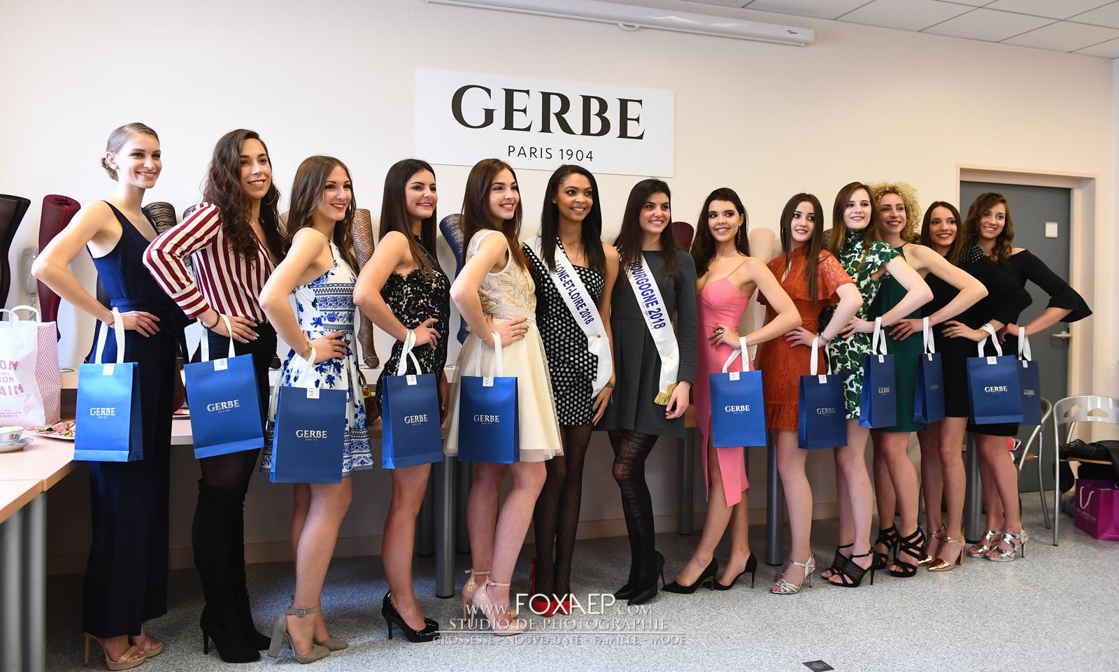 Gerbe Miss Saône et Loire 2019
